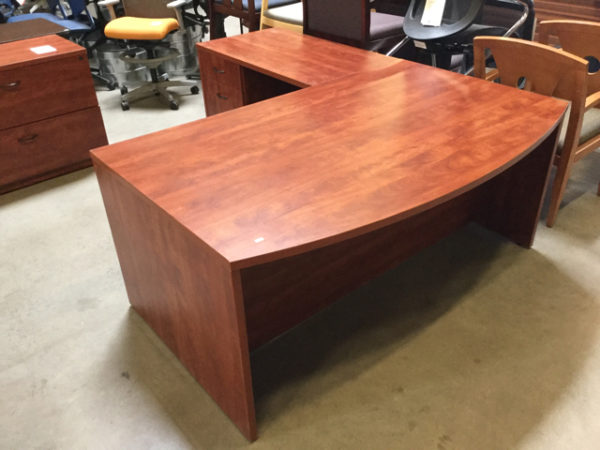 Case l shape desk