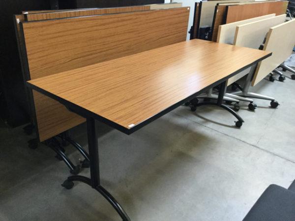 Flip top training table