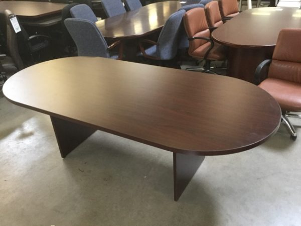 Mahogany conference table